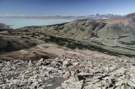 Parc national des Glaciers, vue sur le lac Viedma - Argentine -