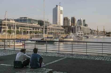 Buenos Aires, dans le quartier de Puerto Madero - Argentine -