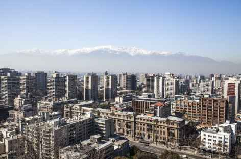 Santiago et la cordillère des Andes - Chili -