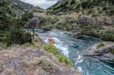 Navigation sur le rio Cochrane - Chili -