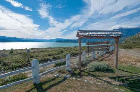 Au bord du lac Desierto - Chili -