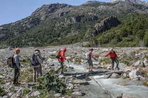 Marche vers le lac Leones - Chili -