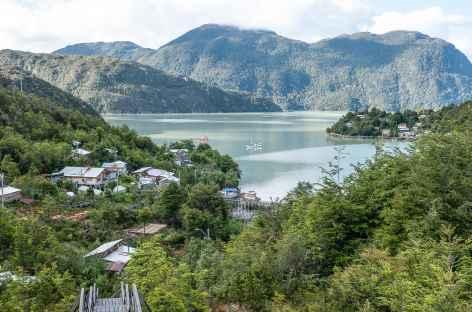 Arrivée au village de Tortel - Chili -