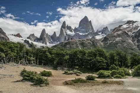 Parc national des Glaciers, vue sur le Fitz Roy - Argentine -