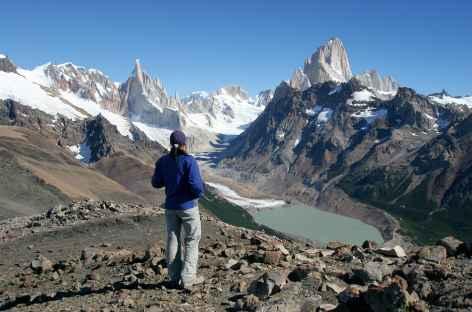 Parc national des Glaciers, au sommet du Pliegue Tumbado - Argentine -