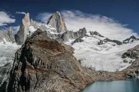 Parc national des Glaciers,  Fitz Roy depuis la laguna de los Tres - Argentine -