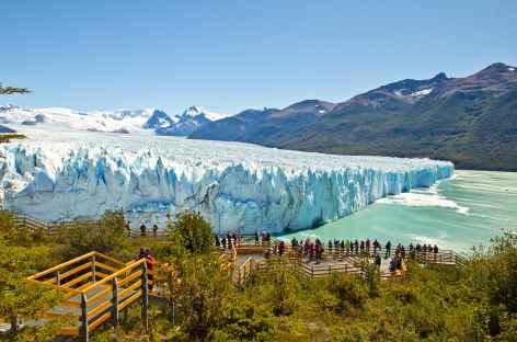 Le front du glacier Perito Moreno - Argentine -