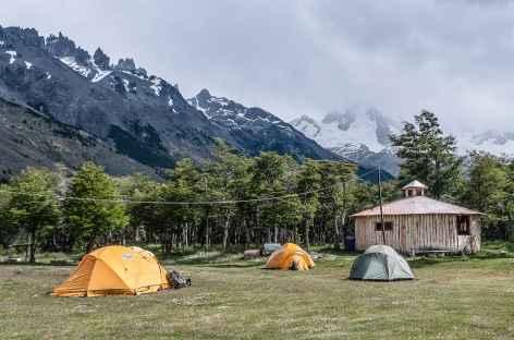 Notre camp au Fundo San Lorenzo - Chili -