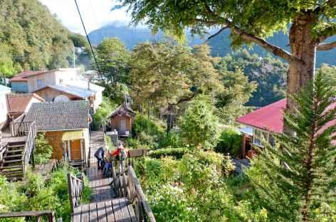Balade sur les passerelles de Tortel - Chili -