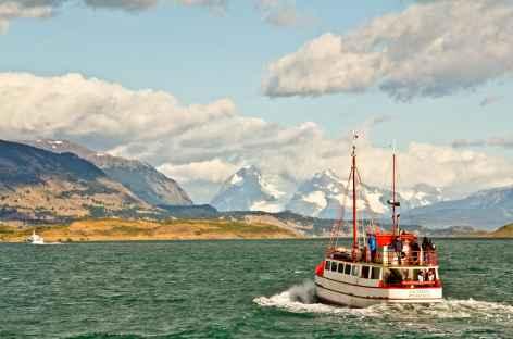 Départ en bateau de Puerto Natales - Chili -