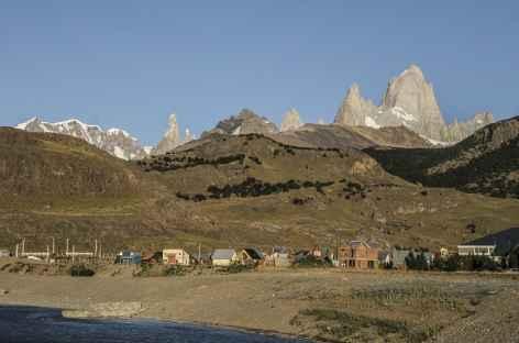 Le village d'El Chalten au pied du Fitz Roy - Argentine -