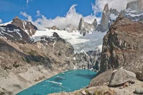 La laguna Sucia et les aiguilles granitiques - Argentine -