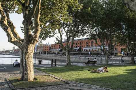 Buenos Aires, fin de journée à Puerto Madero -