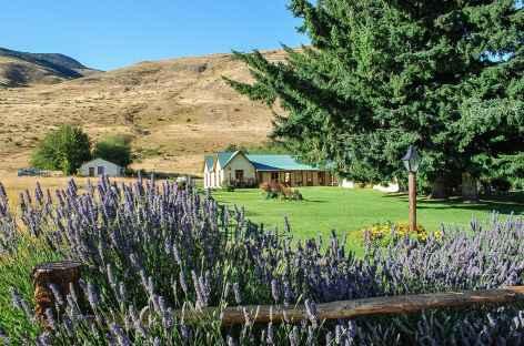 A l'estancia Nibepo Aike - Chili -