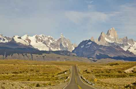 Direction El Chalten face au Fitz Roy - Argentine -