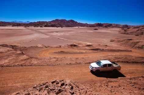 La piste 'Siete Curvas' au coeur de la Puna - Argentine -