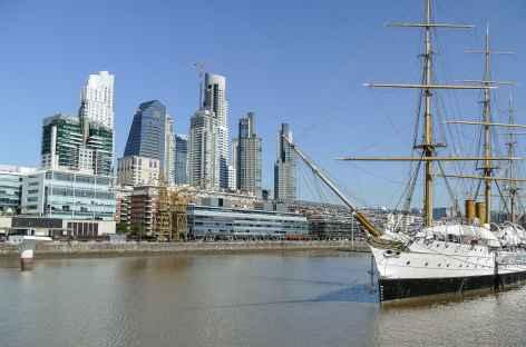 Buenos Aires, quartier de Puerto Madero - Argentine -