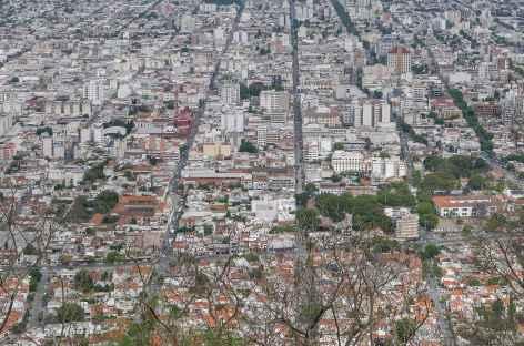Salta depuis le cerro San Bernando - Argentine -