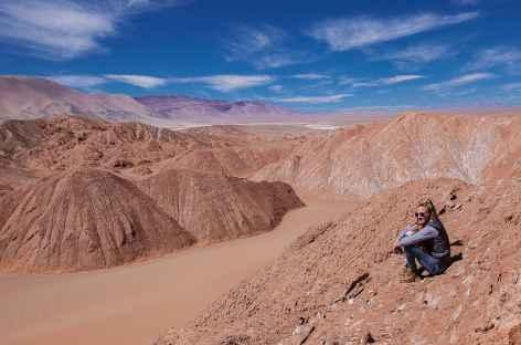 Balade dans les dunes au cœur de la Puna - Argentine -