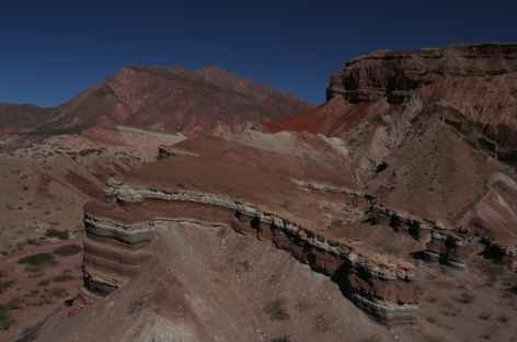 Merveille géologique de la quebrada de las Conchas - Argentine -