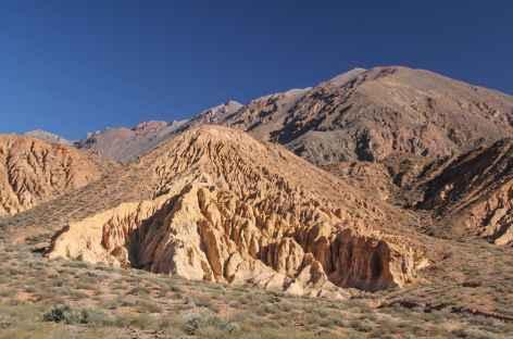 Argentine, paysage entre Mendoza et l'Aconcagua -