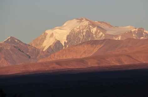 Argentine, les Andes depuis Barreal -
