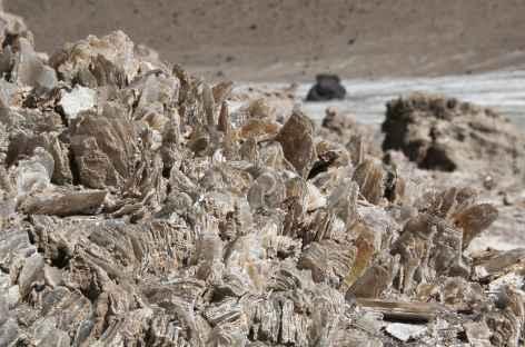 Argentine, gisement de gypse dans la Puna -