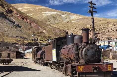 Le cimetière de trains d'Uyuni - Bolivie -