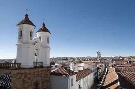 Vue sur les toits de la ville coloniale de Sucre - Bolivie -