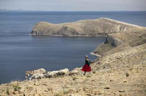 Balade sur l'île du Soleil - Bolivie -