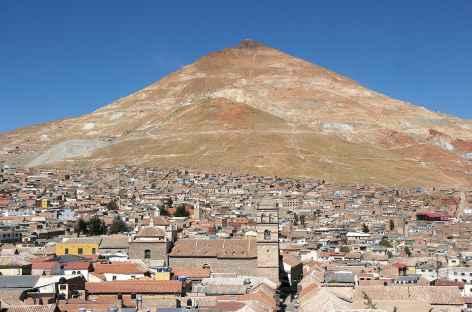 Potosi et le fameux Cerro Rico - Bolivie -