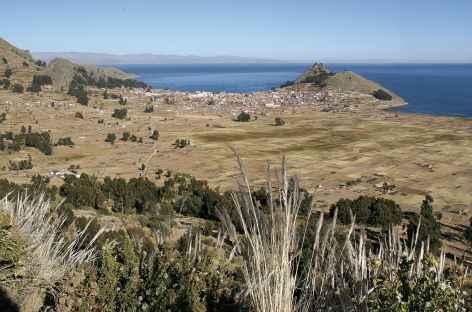 Copacabana au bord du lac Titicaca - Bolivie -