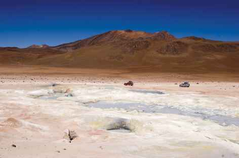 A travers le sud Lipez - Bolivie -