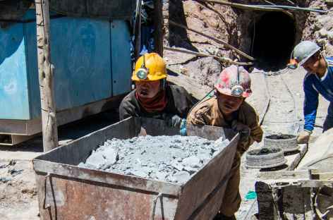 Mines à Potosi - Bolivie -