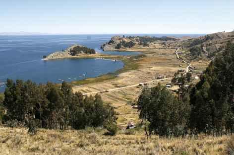 Balade sur la presqu'île de Yampupata - Bolivie -