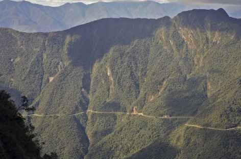 Descente dans les Yungas - Bolivie -