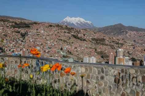 La Paz et l'Illimani (6438 m) - Bolivie -