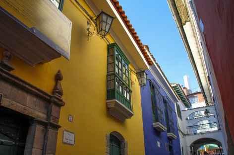 La Paz, la rue Jaen - Bolivie -