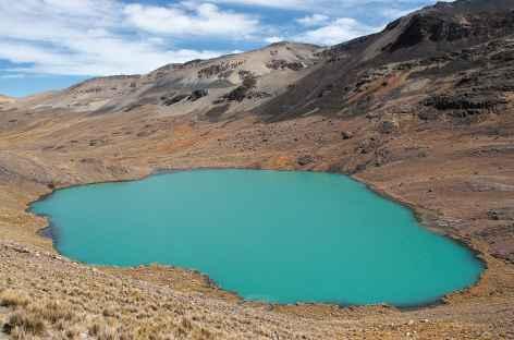 Cordillère Royale, la laguna Chojna Quta - Bolivie -