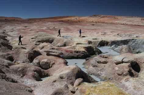 Balade sur le site Sol de Manana - Bolivie -