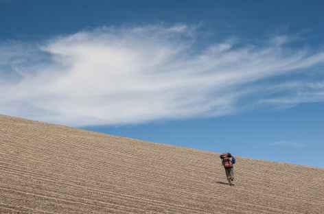 Cordillère Royale, marche en plein ciel - Bolivie -