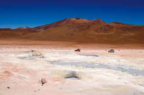 A travers le sud Lipez - Bolivie -