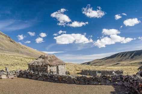 Cordillère Royale, une ferme d'alpage - Bolivie -