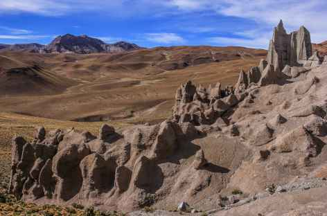 Balade sur le site de Palacio Quemado - Bolivie -