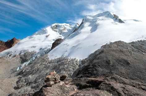 Cordillère Royale, vue depuis le col Calzada - Bolivie -