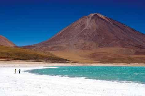 Balade au bord de la laguna verde - Bolivie -
