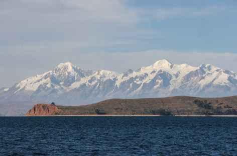 Navigation vers l'île du Soleil - Bolivie -