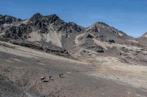 Cordillère Royale, le col Minchin - Bolivie -