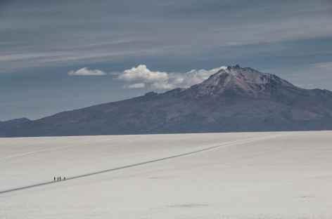 Salar d'Uyuni et le volcan Tunupa - Bolivie -