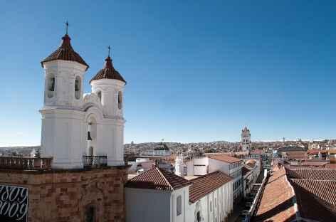 Vue sur les toits de Sucre - Bolivie -